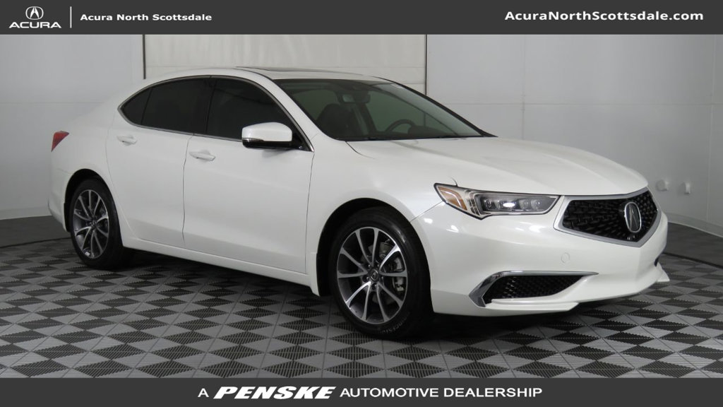 New 2019 Acura TLX 3.5 V-6 9-AT P-AWS Sedan