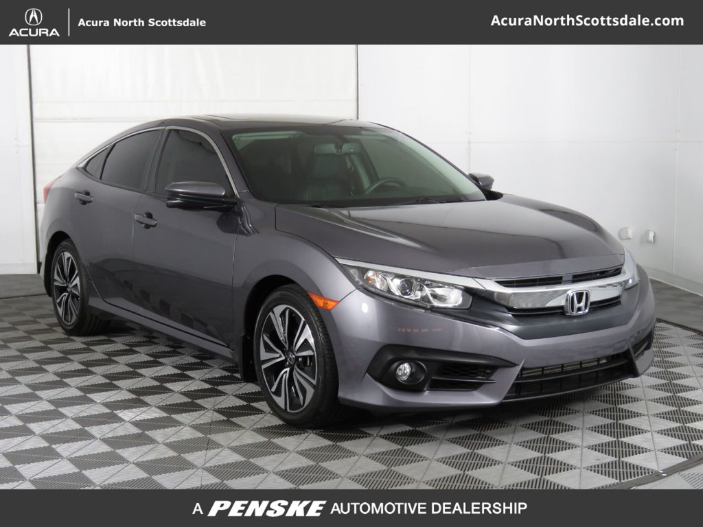 Pre-Owned 2016 Honda Civic Sedan 4dr CVT EX-L