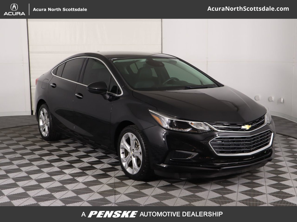 Pre-Owned 2016 Chevrolet CRUZE 4dr Sedan Automatic Premier