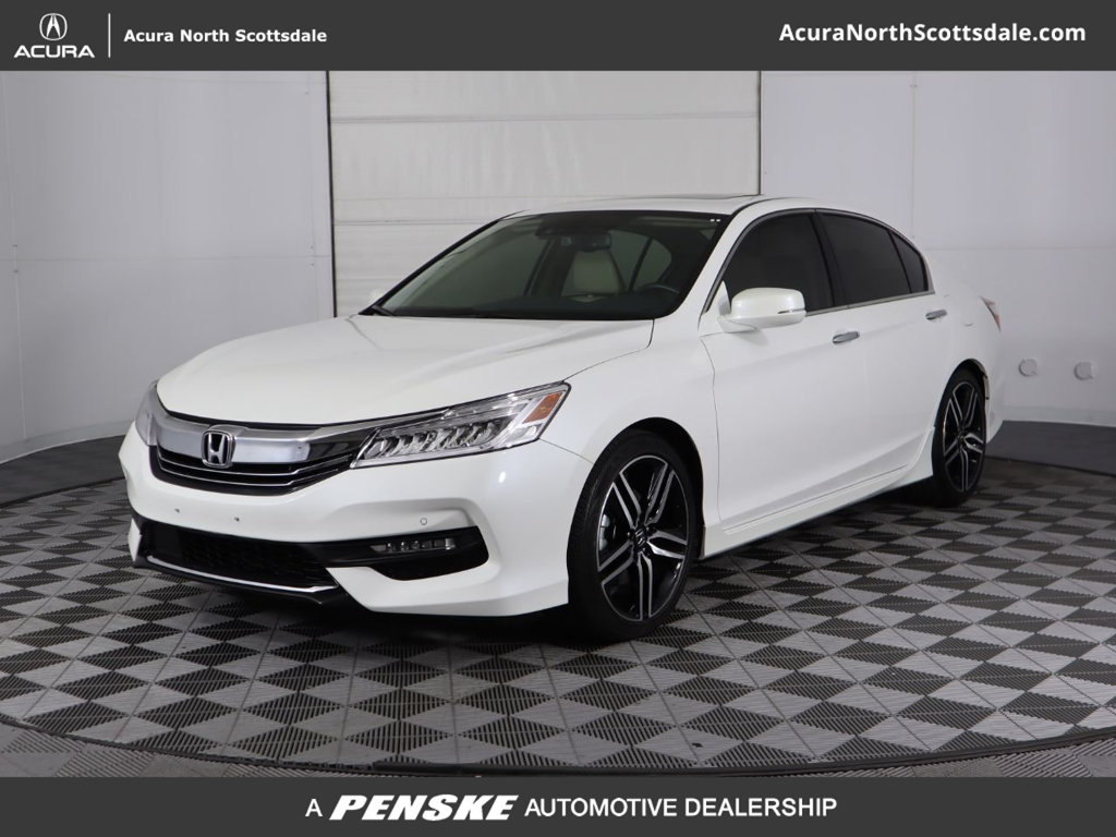 Pre-Owned 2016 Honda Accord Sedan 4dr V6 Automatic Touring
