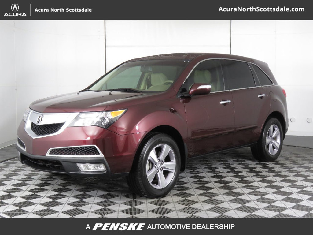 Pre-Owned 2013 Acura MDX AWD 4dr