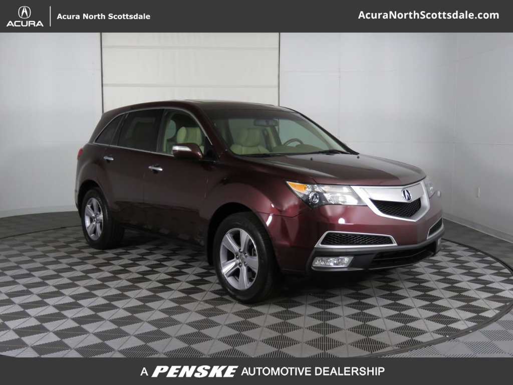 Pre-Owned 2013 Acura MDX AWD 4dr Tech/Entertainment Pkg