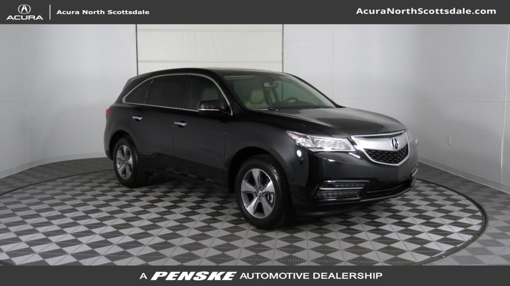 Certified Pre-Owned 2016 Acura MDX Base