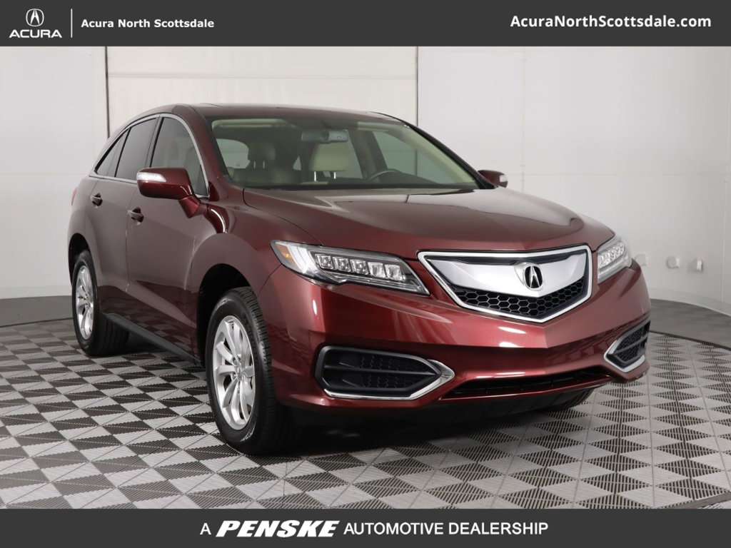 Certified Pre Owned 2017 Acura Rdx Base Suv In Phoenix Ap2866