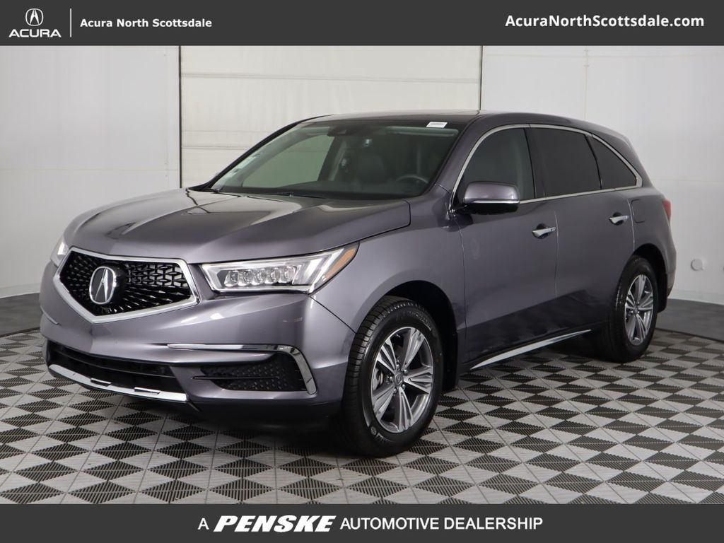Pre-Owned 2020 Acura MDX FWD 7-Passenger