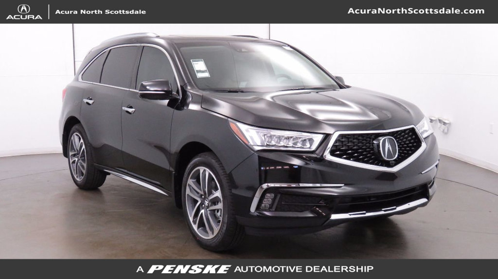 new 2018 acura mdx with advance package suv in phoenix a12195 acura north scottsdale. Black Bedroom Furniture Sets. Home Design Ideas