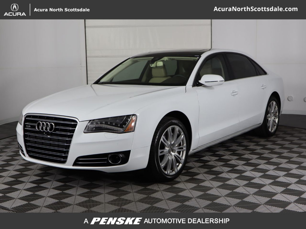 Pre-Owned 2014 Audi A8 L 4dr Sedan 4.0T