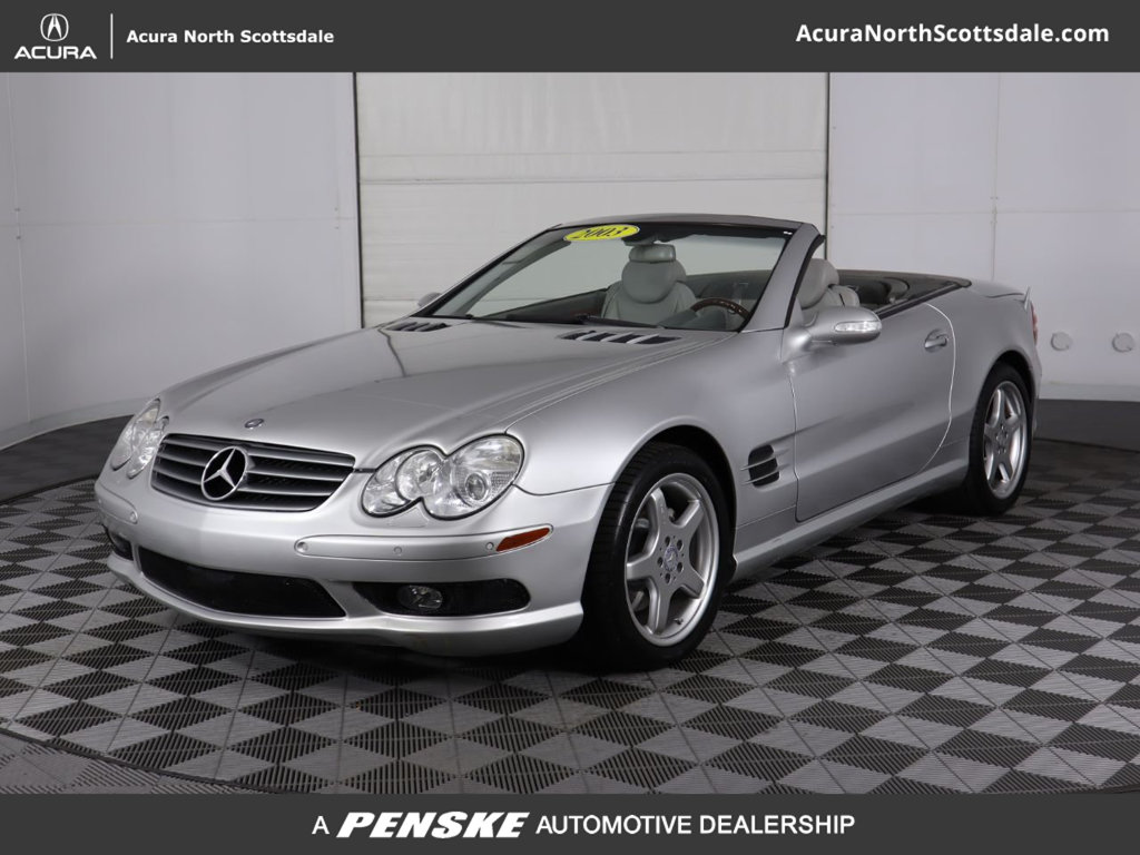 Pre-Owned 2003 Mercedes-Benz SL-Class SL500 2dr Roadster 5.0L